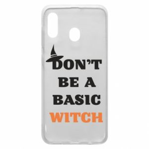 Etui na Samsung A30 Don't be a basic witch
