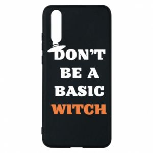Etui na Huawei P20 Don't be a basic witch