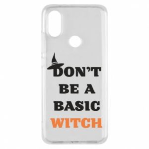 Etui na Xiaomi Mi A2 Don't be a basic witch