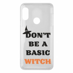 Etui na Mi A2 Lite Don't be a basic witch