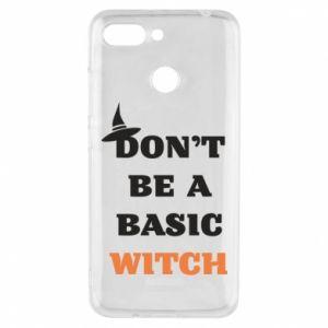 Etui na Xiaomi Redmi 6 Don't be a basic witch