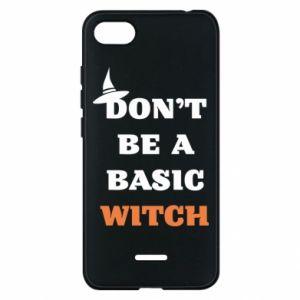 Etui na Xiaomi Redmi 6A Don't be a basic witch