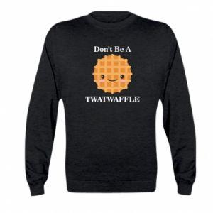Bluza dziecięca Don't be a twaffle