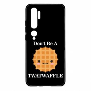 Etui na Xiaomi Mi Note 10 Don't be a twaffle
