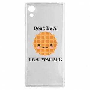 Etui na Sony Xperia XA1 Don't be a twaffle