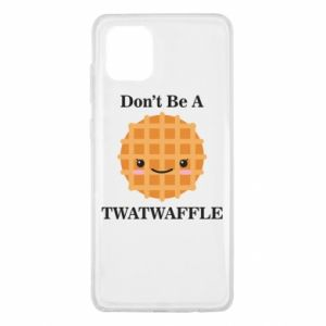 Etui na Samsung Note 10 Lite Don't be a twaffle