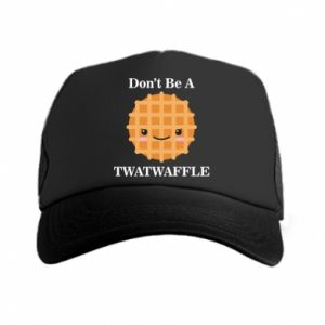 Czapka trucker Don't be a twaffle