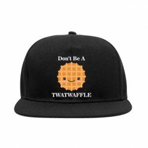 Snapback Don't be a twaffle
