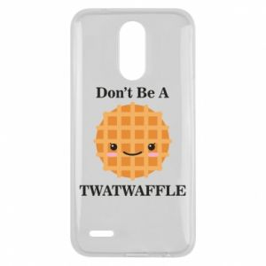 Etui na Lg K10 2017 Don't be a twaffle