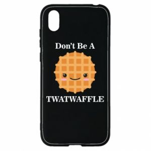 Etui na Huawei Y5 2019 Don't be a twaffle