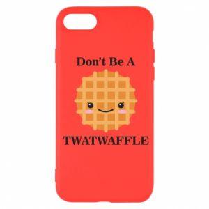 Etui na iPhone SE 2020 Don't be a twaffle