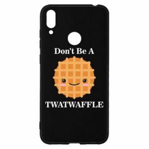 Etui na Huawei Y7 2019 Don't be a twaffle