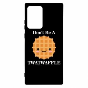 Etui na Samsung Note 20 Ultra Don't be a twaffle