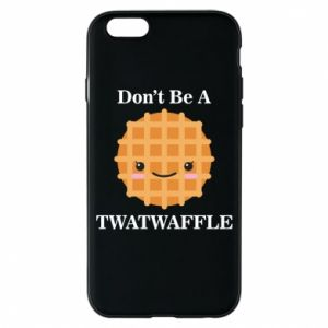 Etui na iPhone 6/6S Don't be a twaffle