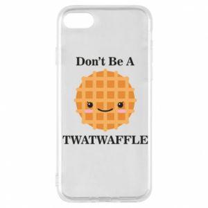 Etui na iPhone 7 Don't be a twaffle