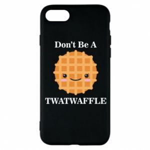 Etui na iPhone 8 Don't be a twaffle