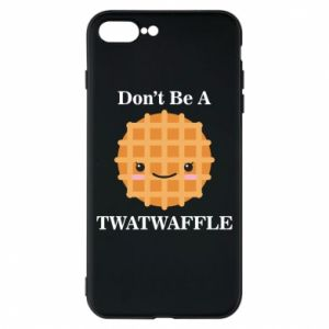 Etui na iPhone 8 Plus Don't be a twaffle