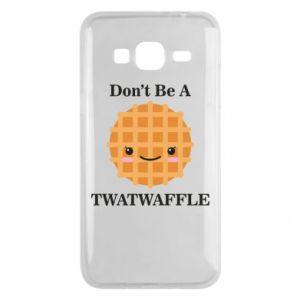 Etui na Samsung J3 2016 Don't be a twaffle