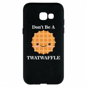 Etui na Samsung A5 2017 Don't be a twaffle