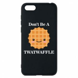 Etui na Huawei Y5 2018 Don't be a twaffle