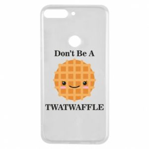 Etui na Huawei Y7 Prime 2018 Don't be a twaffle