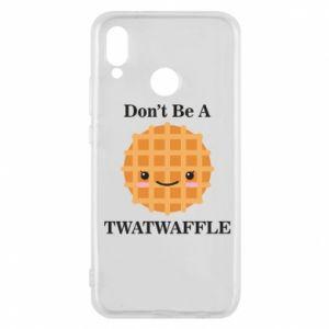 Etui na Huawei P20 Lite Don't be a twaffle