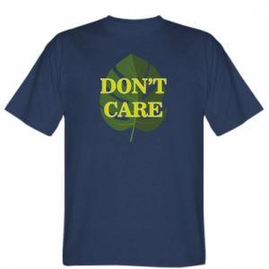 Koszulka Don't care leaf