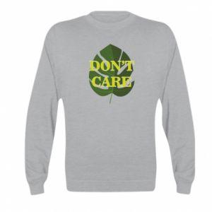Bluza dziecięca Don't care leaf