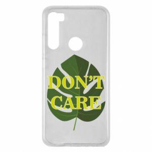 Etui na Xiaomi Redmi Note 8 Don't care leaf