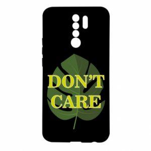 Etui na Xiaomi Redmi 9 Don't care leaf