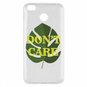 Etui na Xiaomi Redmi 4X Don't care leaf