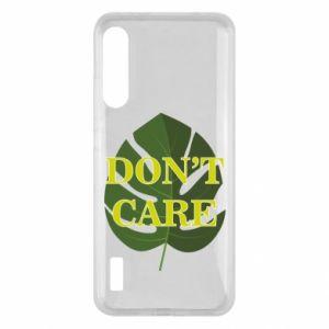 Etui na Xiaomi Mi A3 Don't care leaf