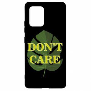 Etui na Samsung S10 Lite Don't care leaf