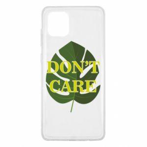 Etui na Samsung Note 10 Lite Don't care leaf