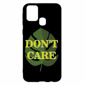 Etui na Samsung M31 Don't care leaf
