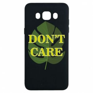 Etui na Samsung J7 2016 Don't care leaf
