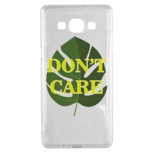 Etui na Samsung A5 2015 Don't care leaf