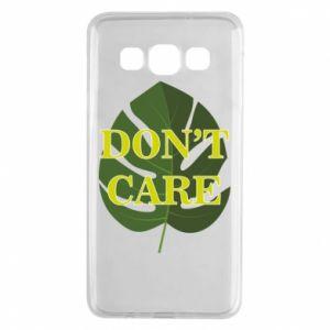 Etui na Samsung A3 2015 Don't care leaf