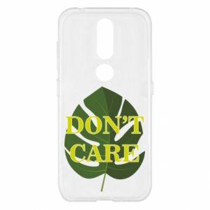 Etui na Nokia 4.2 Don't care leaf
