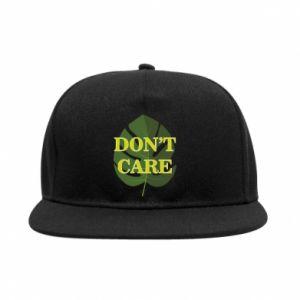 Snapback Don't care leaf