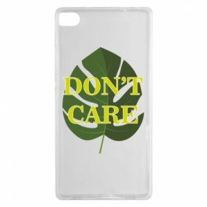 Etui na Huawei P8 Don't care leaf