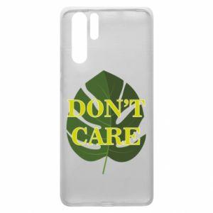 Etui na Huawei P30 Pro Don't care leaf