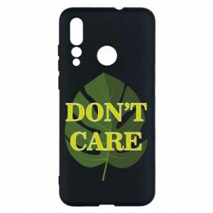 Etui na Huawei Nova 4 Don't care leaf