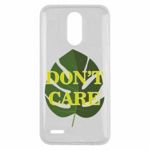 Etui na Lg K10 2017 Don't care leaf