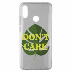 Etui na Huawei Honor 10 Lite Don't care leaf