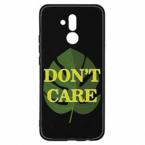 Etui na Huawei Mate 20 Lite Don't care leaf