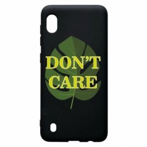 Etui na Samsung A10 Don't care leaf