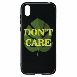 Etui na Huawei Y5 2019 Don't care leaf