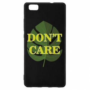 Etui na Huawei P 8 Lite Don't care leaf