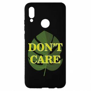 Etui na Huawei P Smart 2019 Don't care leaf